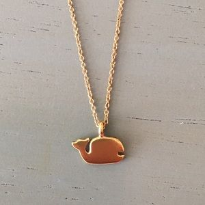 Jewelry - Gold Love Family Whale ShortChain Necklace Pendant
